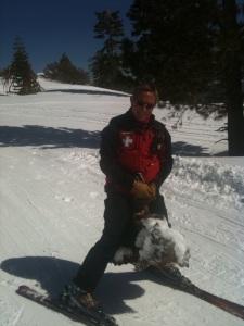 Mike Balavage Ski Patrol