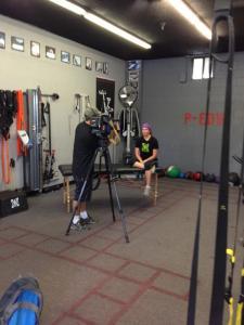 Kim Mann interviewed by News 2